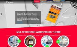 Eleganto - Free One Page WordPress Theme