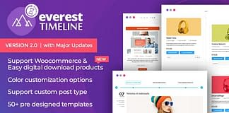 Everest Timeline - Responsive WordPress Timeline Plugin