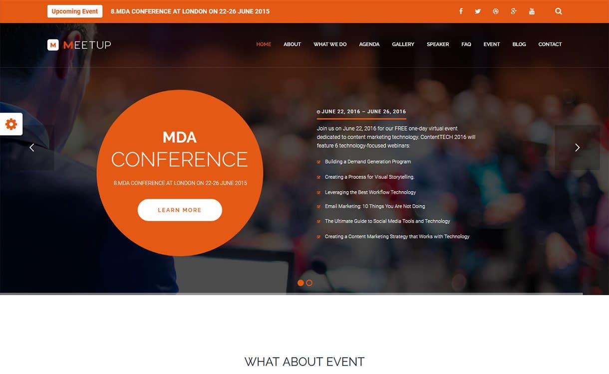 meetup-best-premium-event-wordpress-theme