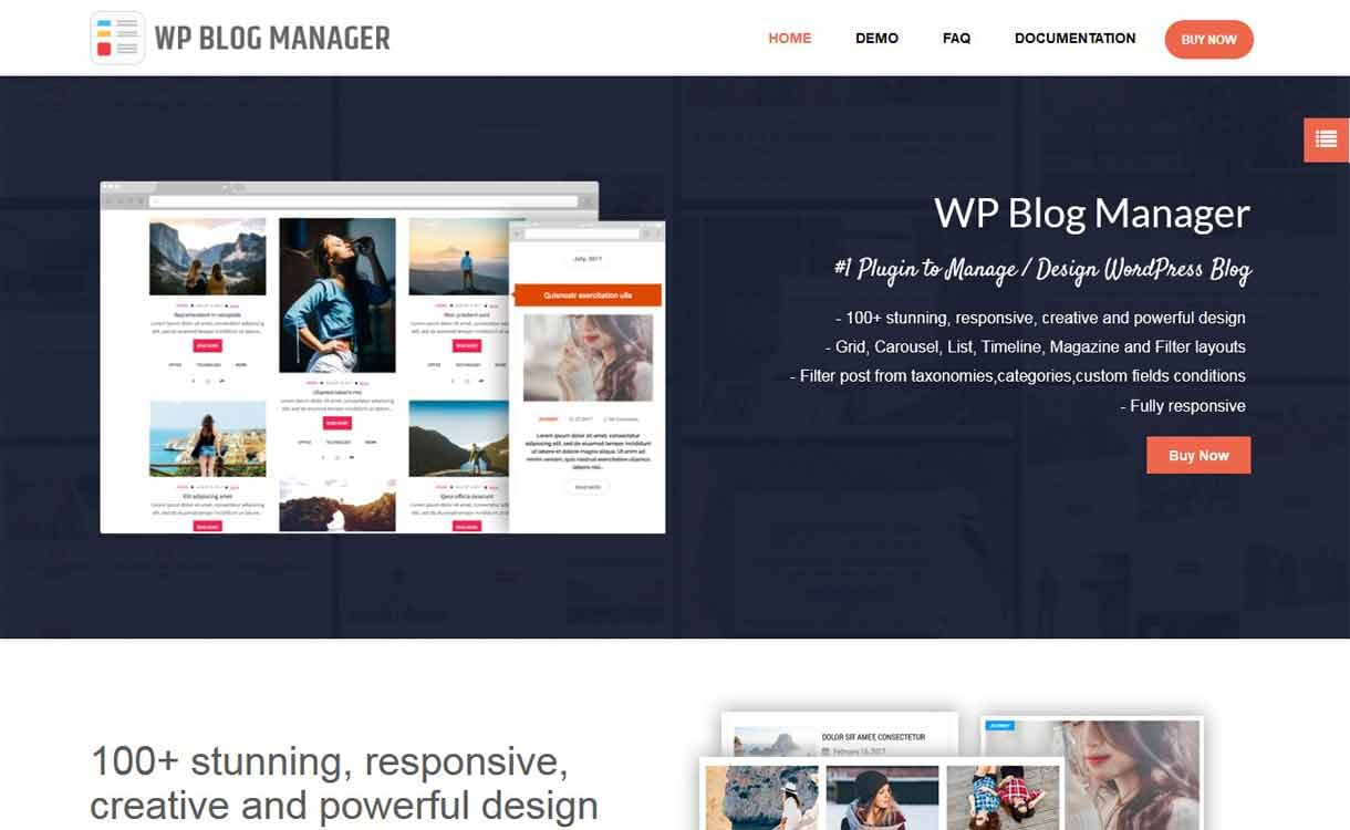 WP Blog Manager - Premium - WordPress Blog Manager Plugins