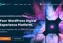 WP Engine - Managed Hosting for WordPress