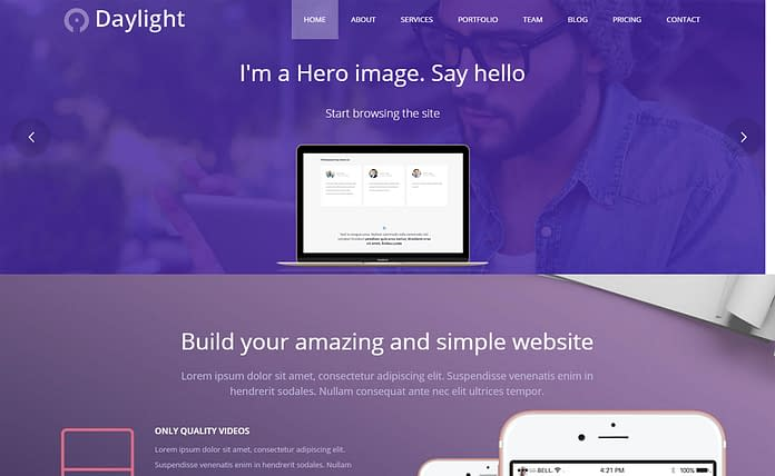 DayLight - Premium Multipurpose Business Theme