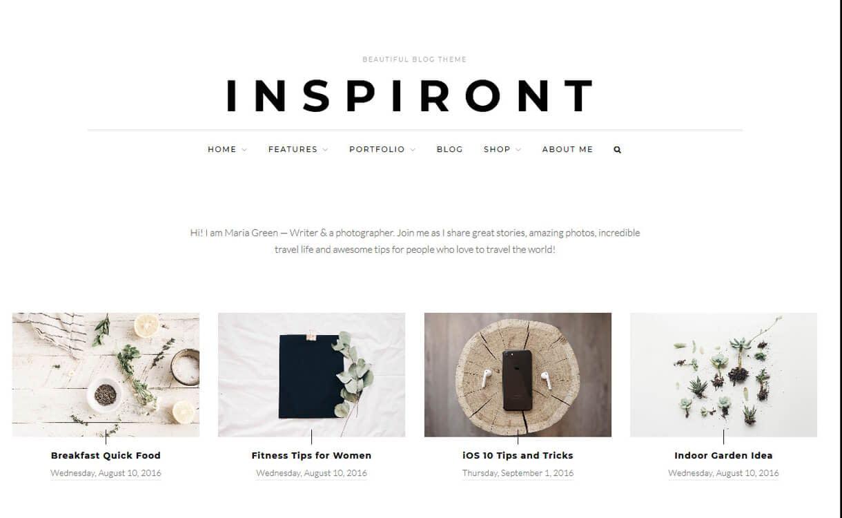 Inspiront-WordPress Blog Themes