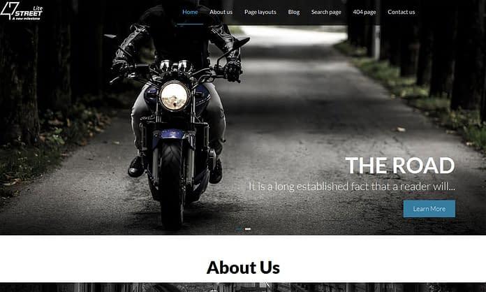 fourtyseven-street-free-wordpress-theme