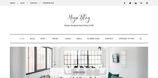 Mega Blog - Free WordPress Blog Theme