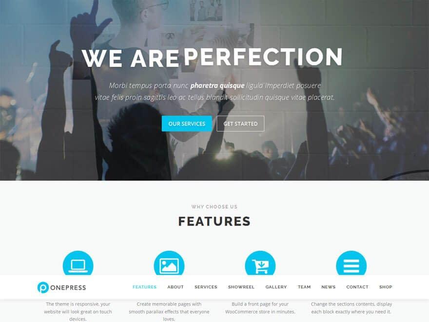 onepress-free-landing-WordPress-theme