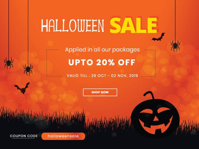 Keon Themes - Halloween Offer