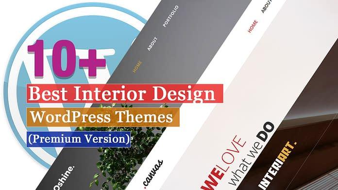 Best Premium Interior Design WordPress Themes