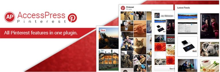 AccessPress Pinterest Plugin - WordPress Pinterest Plugin