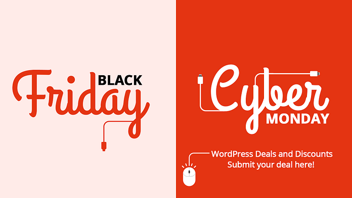WordPress Deals - Black Friday and Cyber Monday 2019