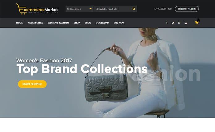 eCommerce Market - WordPress WooCommerce Theme