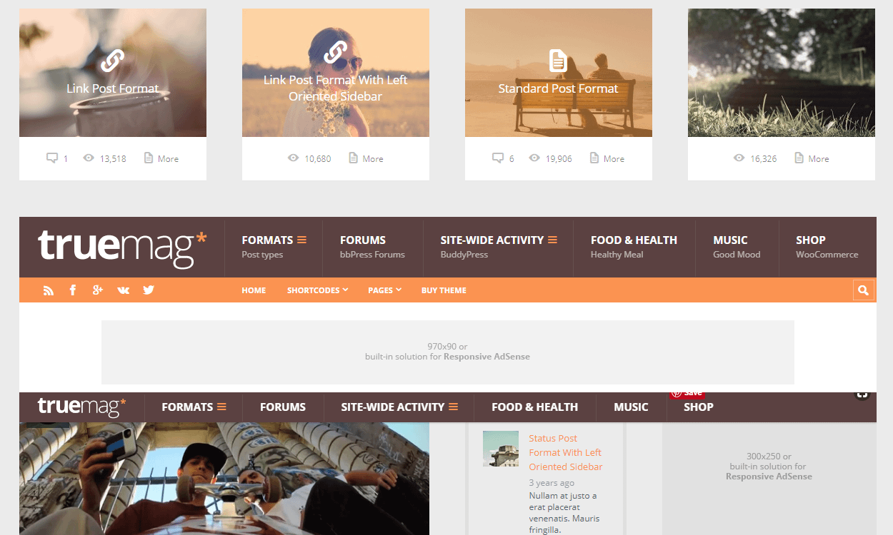 TrueMag - Best Premium WordPress Magazine Theme