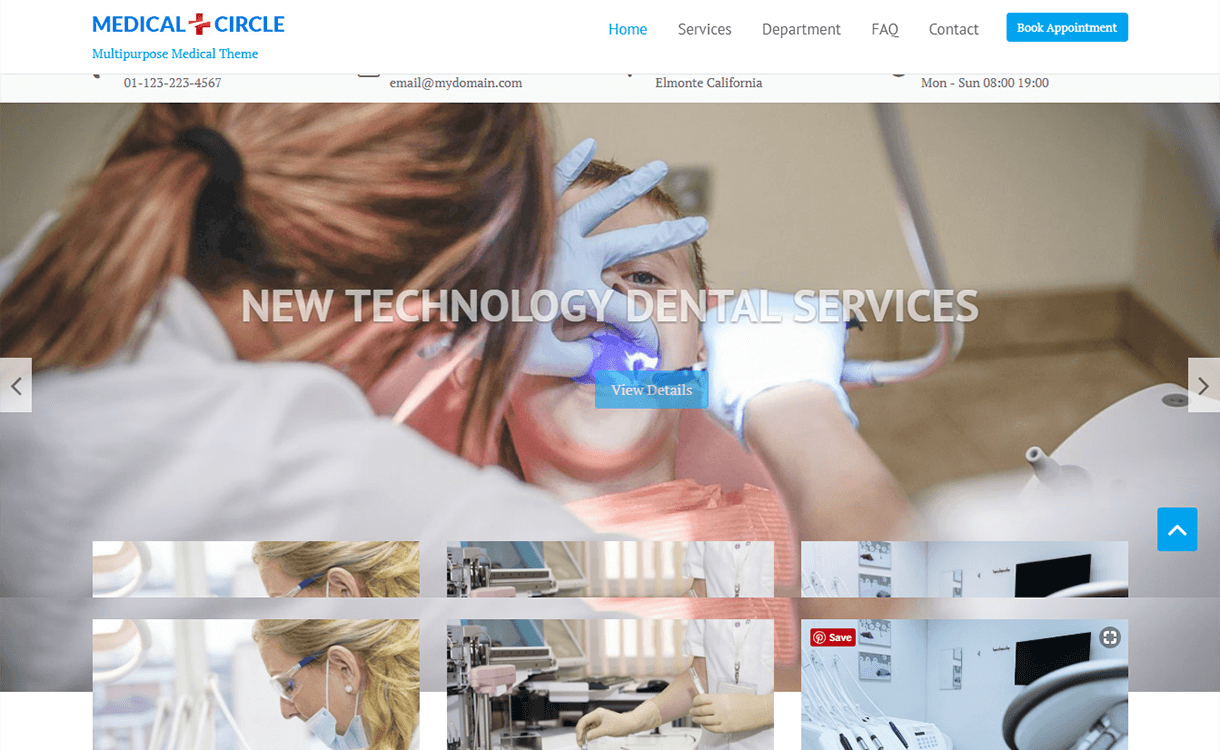 Medical Circle-Best Free WordPress Themes November 2017