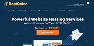 HostGator WordPress Website Hosting Service