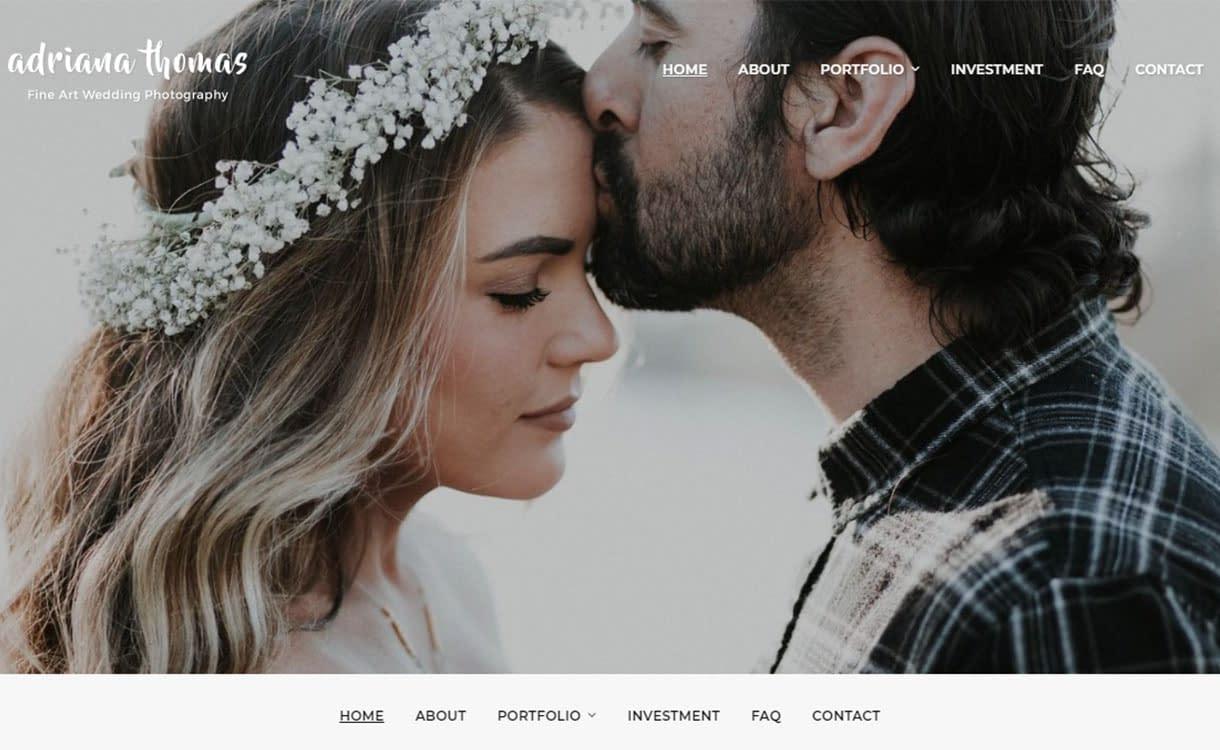 photo-frame-best-free-wedding-wordpress-theme