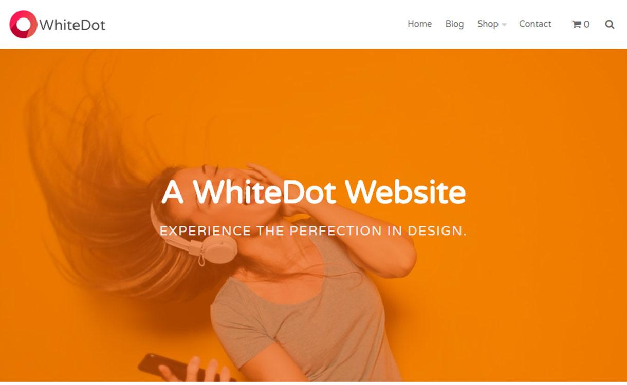 whitedot-best-free-buddypress-wordpress-theme
