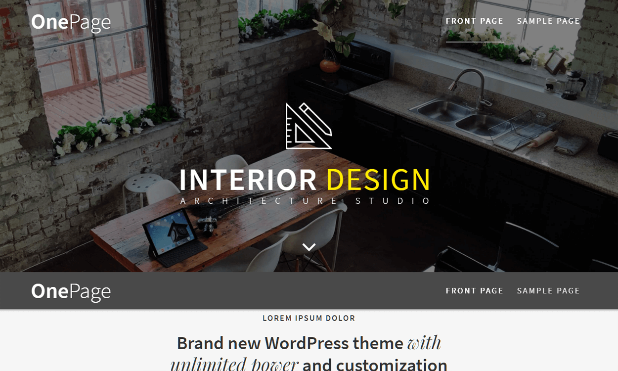 OnePage Express-Best Agency WordPress Themes and Templates (Free)