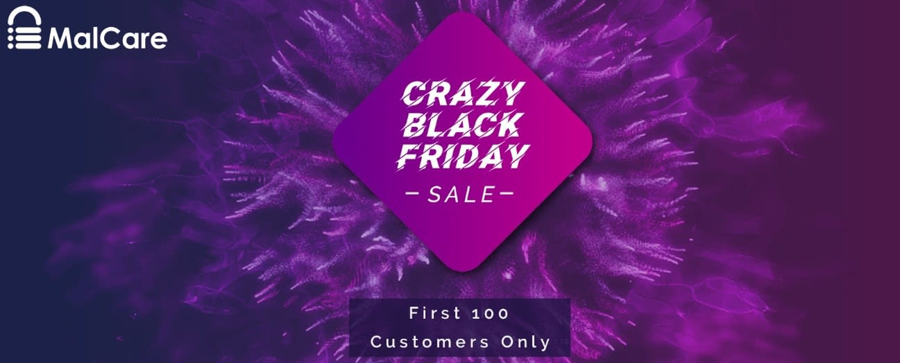 Malcare- Black Friday Deal 2019