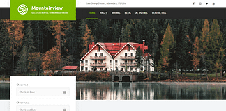 Mountainview - Vacation Rental WordPress Theme