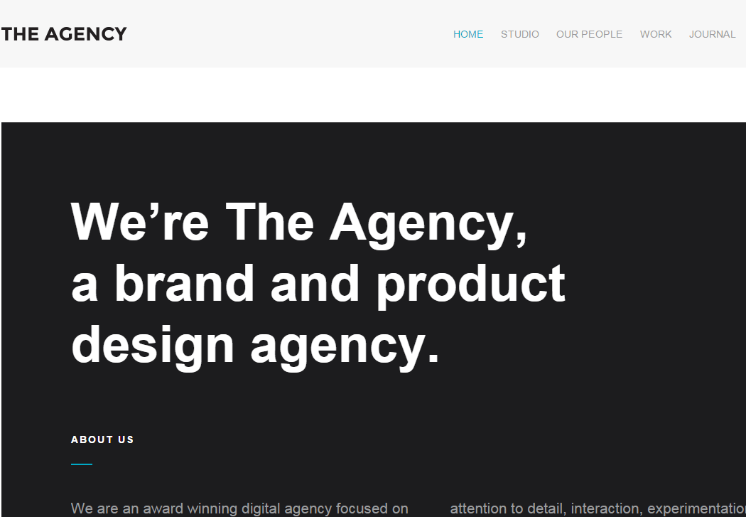 The Agency - WordPress Business Theme
