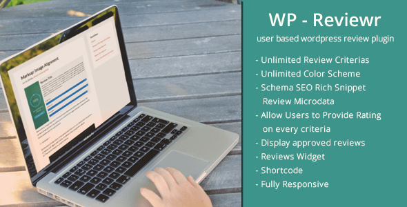 WP Reviewr Pro - WordPress User Admin Review Plugin