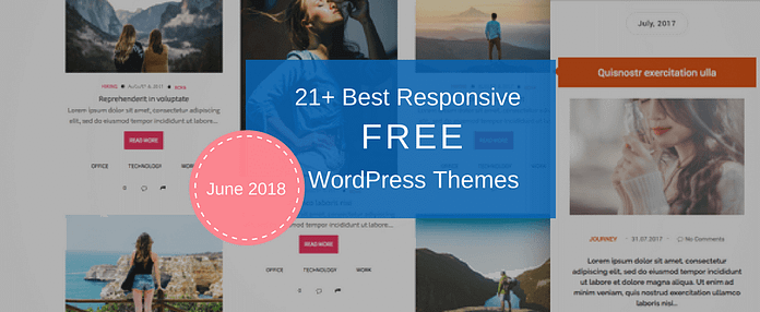 Best Free WordPress Themes June 2018