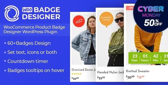Woo Badge Designer - Black Friday Deal 2019