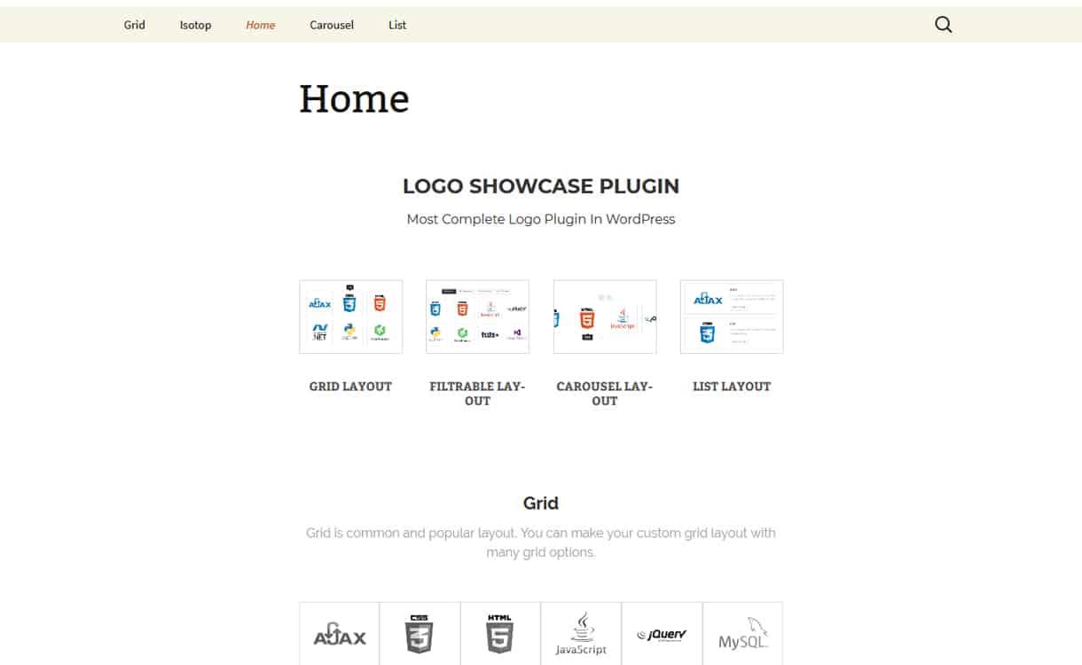 Logo Showcase Plugin - WordPress Clients Logo Showcase Plugins