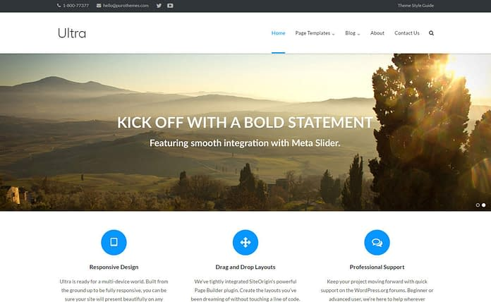 ultra-free-WordPress-theme
