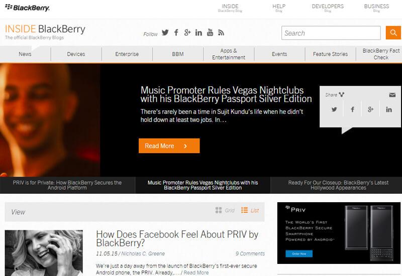 BlackBerry-Blogs