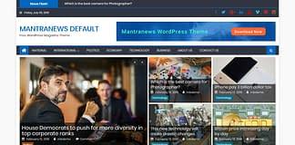 Mantranews - News WordPress Theme