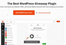 RafflePress - The Best WordPress Giveaway Plugin