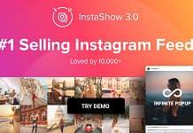 InstaShow - WordPress Instagram Feeds Plugins