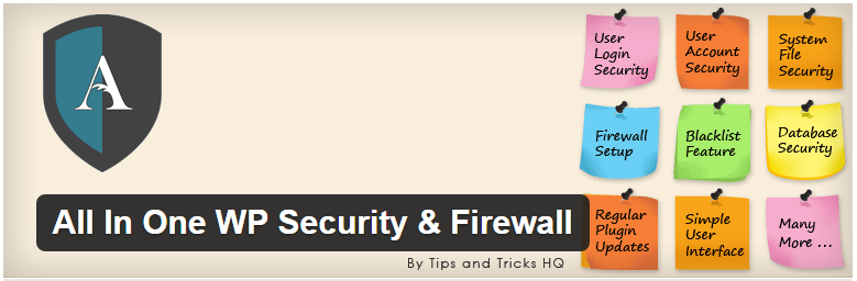 All In One WP Security Firewall plugin