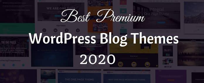 Premium WordPress Blog Themes