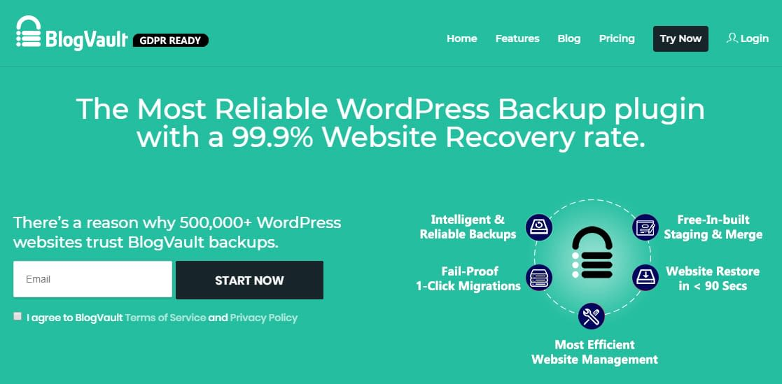 BlogVault - Black Friday and Cyber Monday WordPress Deal 2018