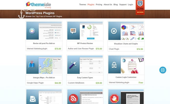 themeisle WordPress-plugin-store