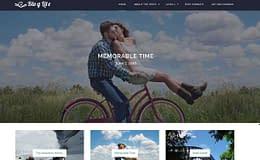 Blog Lite - Free WordPress Blogging Theme