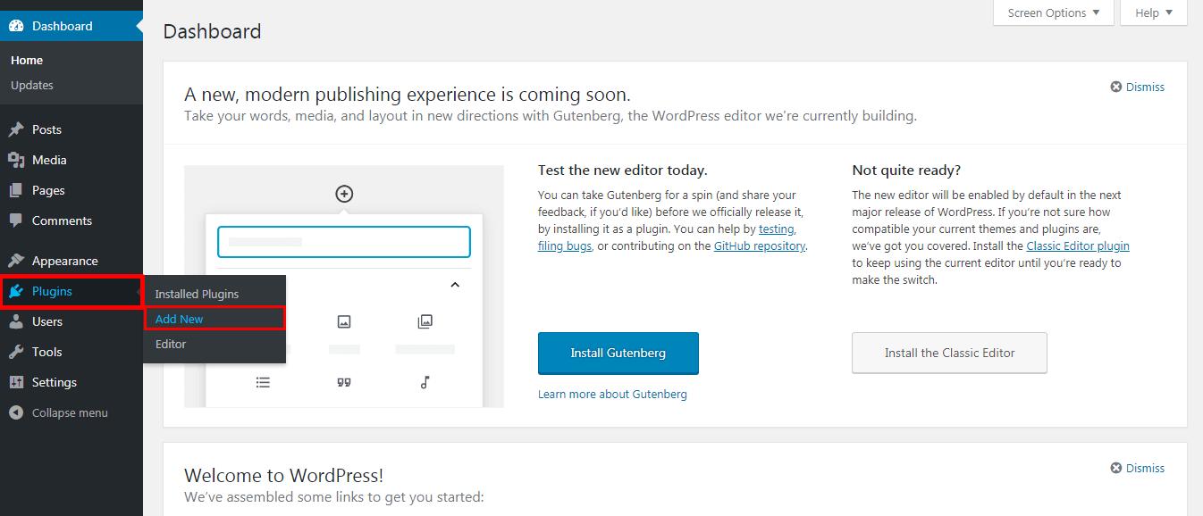 Redirecting links in WordPress