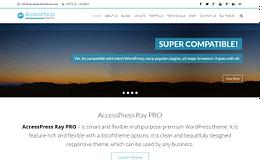 AccessPress Ray Pro Responsive Premium WordPress Business Theme