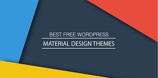Best Free WordPress Material Design Themes