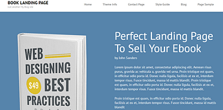 Book-Landing-Page