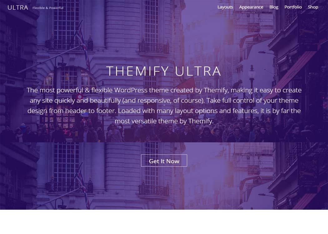Ultra - WordPress eCommerce Theme