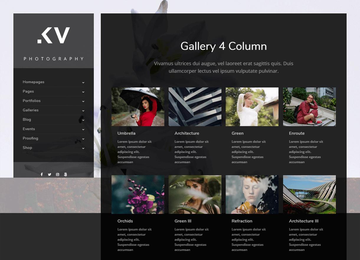 Kreative-Best Premium WordPress Photography Themes