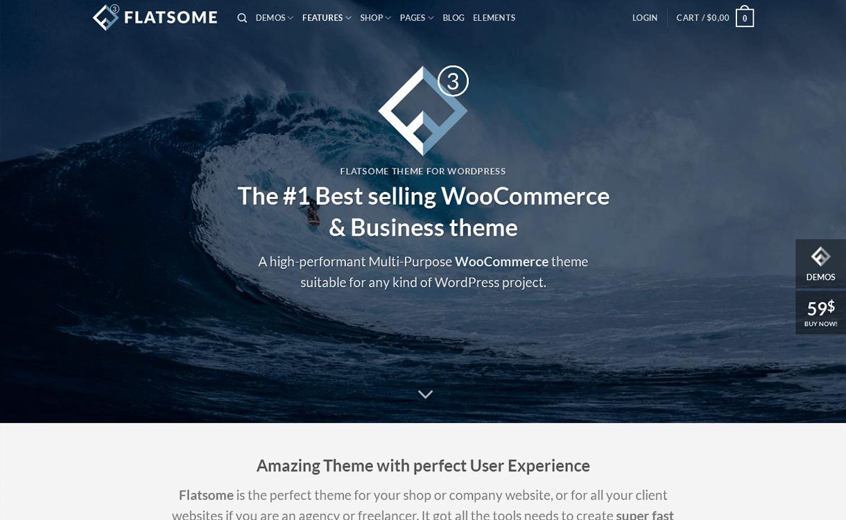 Flatsome- Best Premium WordPress eCommerce/WooCommerce/Online Store Themes