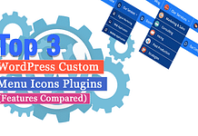 Top 3 WordPress Custom Menu Icons Plugins (Features Compared)