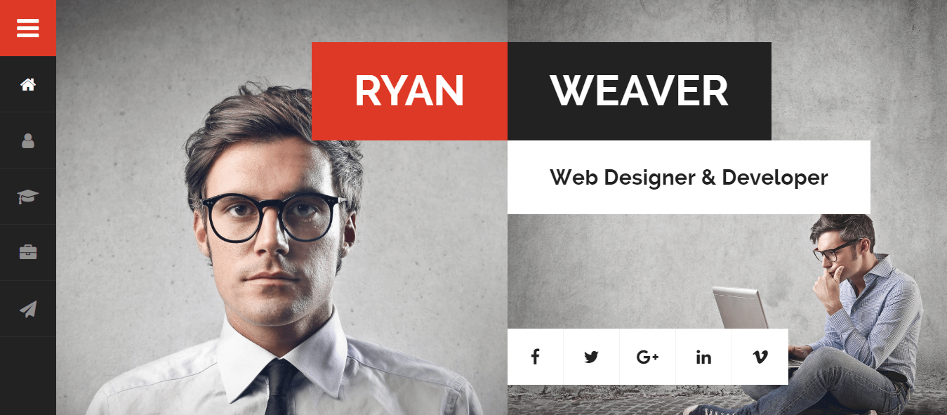 Divergent - Best Premium Resume WordPress Theme