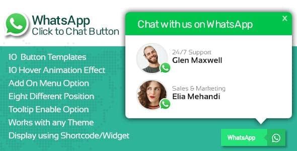 WP WhatsApp Button