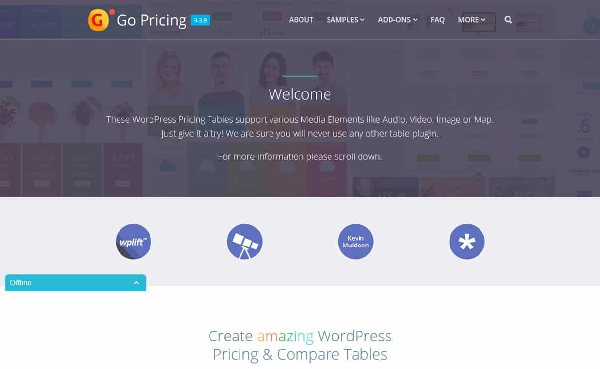 Go Pricing - WordPress Pricing Table Plugins