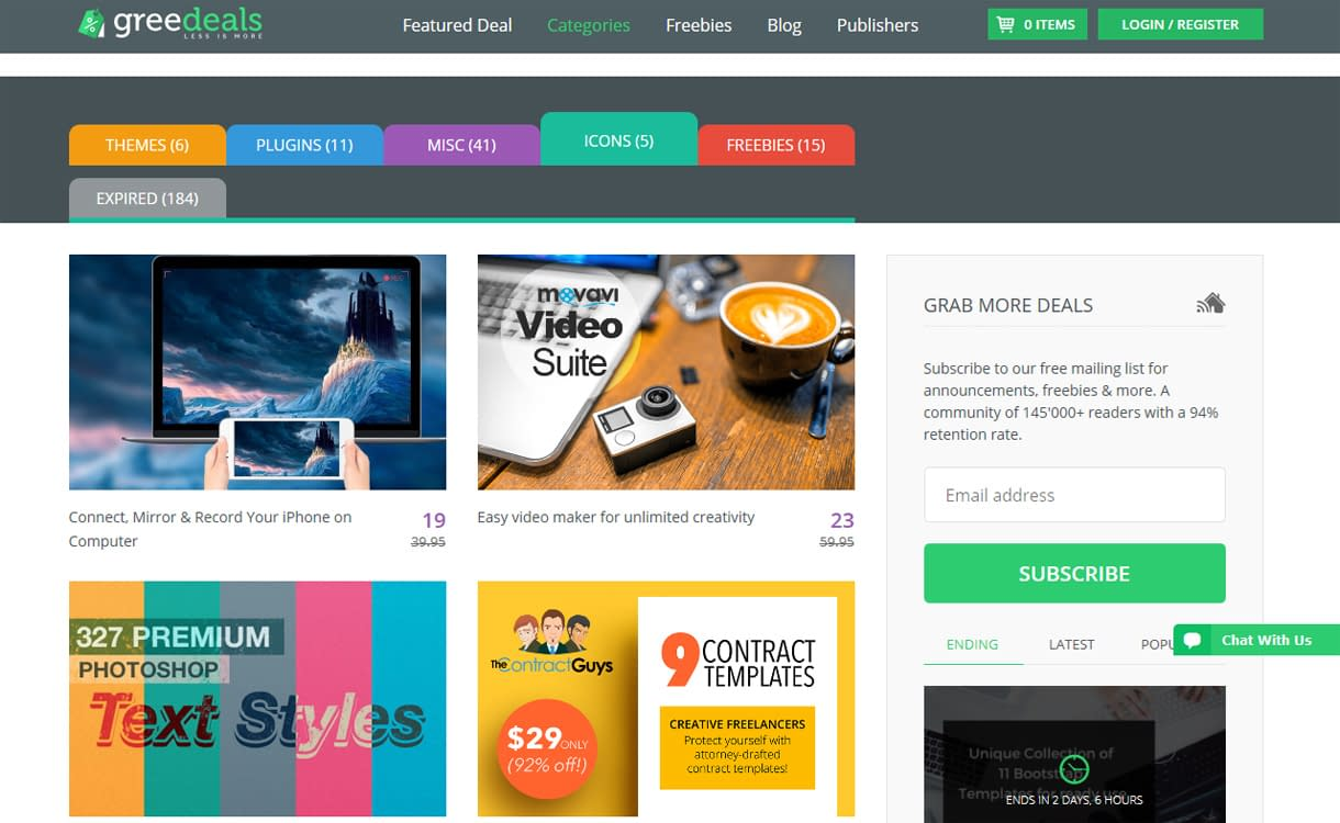 GreeDeals - WordPress Deals and Discounts for Easter 2017